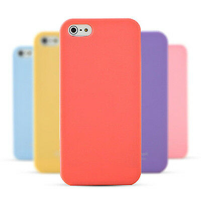 Jelly Candy Soft TPU Gel Silicone Rubber Back Case Cover for iPhone 5 5C 6 Plus