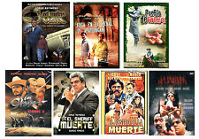 7 Different Spanish Dvd S Featuring Juan Valentin And Peliculas Ebay