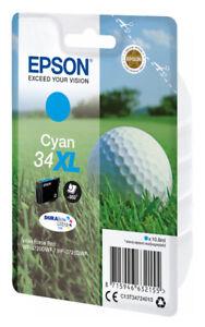 1x-XL-ORIGINAL-TINTE-PATRONEN-EPSON-34-WorkForce-Pro-WF-3720-WF3725-DWF-Golfball