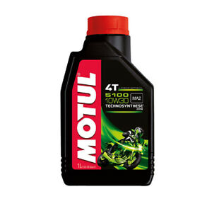 Motul Lubricants Motul - 5100 10W30 4T, 1 Liter P/N 104062