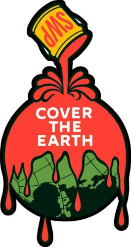 Sherwin Williams Paint SWP Cover the Earth Plasma Cut Metal Sign