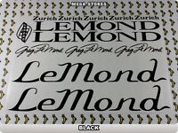 Lemond Signature Stickers Decals Bicycles Bikes Cycles different Colors 61k