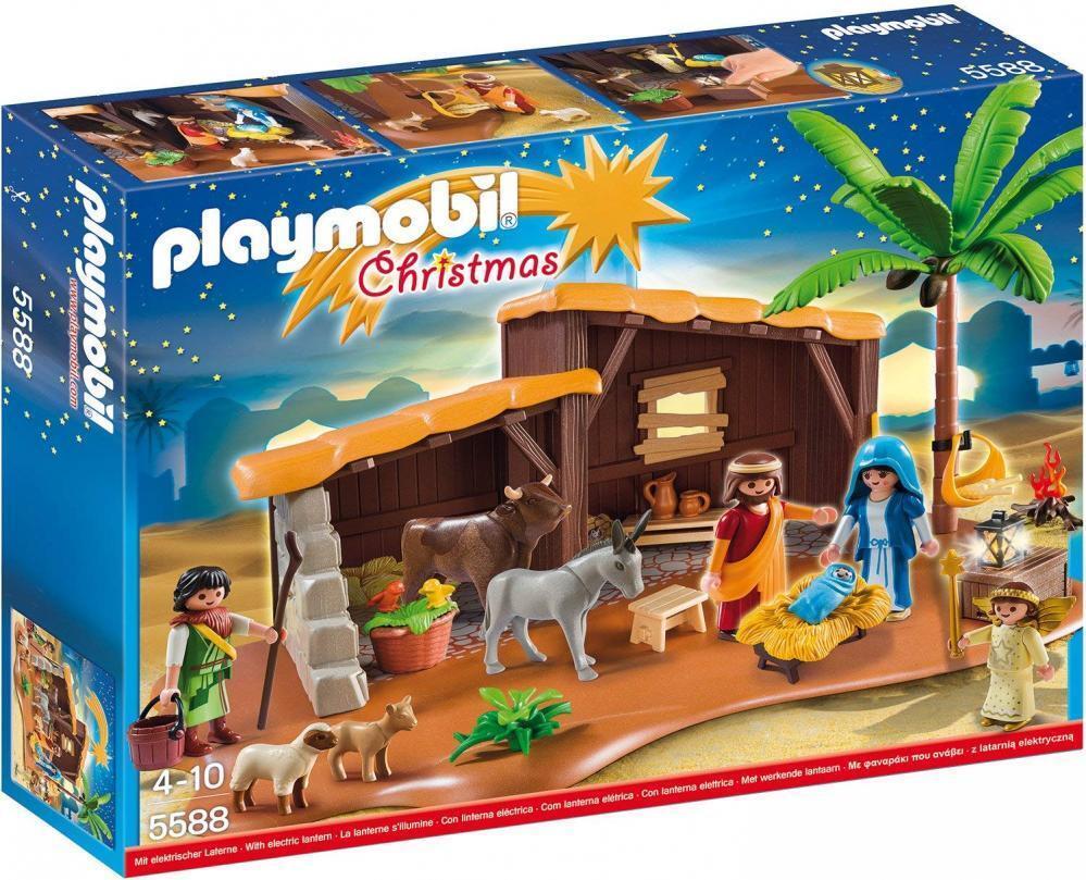 Playmobil 5588 - Große Weihnachtskrippe Kinder Spielzeug für Jungen Mädchen ab 4