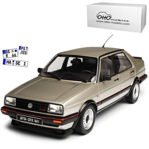 Generation 1984-1992 Nr 742 1 VW Volkswagen Jetta GTX 16V Limousine Silber II 2