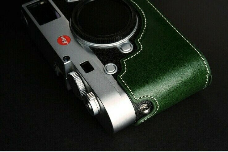 Leather Half Case for Leica M10 (choice of colours) - BRAND NEW