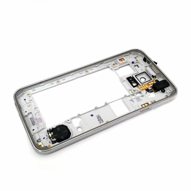 Housing Replacement Part Bezel Frame Middle Plate for Samsung Galaxy S5 SM-G900