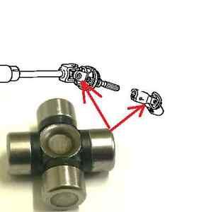 Steering Column Shaft Universal Joint 16x39 For Kia Mazda