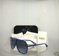 New Authentic Marc Jacobs MJ 305/S Sunglasses LXVJJ Blue Frame MJ305