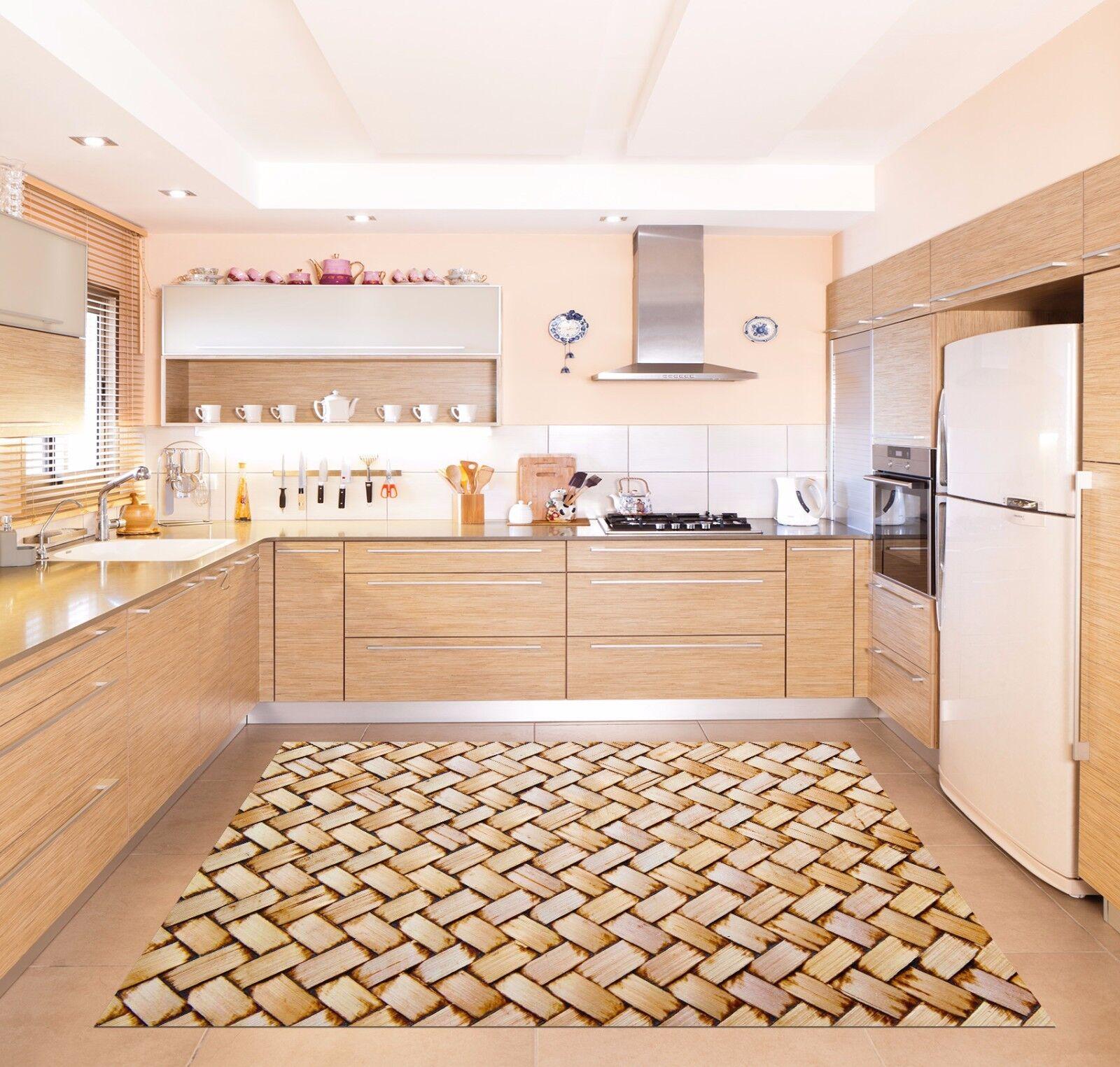 3D Striped Weave 788 Kitchen Mat Floor Murals Wall Print Wall Deco UK Carly