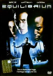 DVD-Equilibrium-CHRISTIAN-BALE-STUPENDO-FANTASCIENZA-ITALIANO