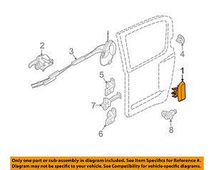 image is loading nissan-oem-05-07-pathfinder-rear-door-handle-
