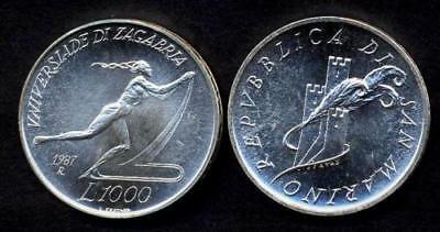 528 FDC SAN MARINO 1000 Lire 1995 AG