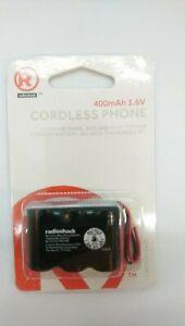 RadioShack-Cordless-Phone-Battery-400mAh-3-6v-For-Vtech-Phones-Ni-Cd