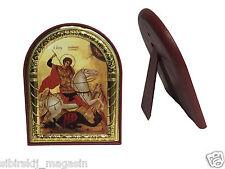 Russische Orthodoxe Ikone St. George, Святой Георг, Gold
