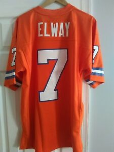 best website 2e967 4111c Details about Mitchell & Ness Vintage 1990 Denver Broncos John Elway  Alternate sewn jersey 44