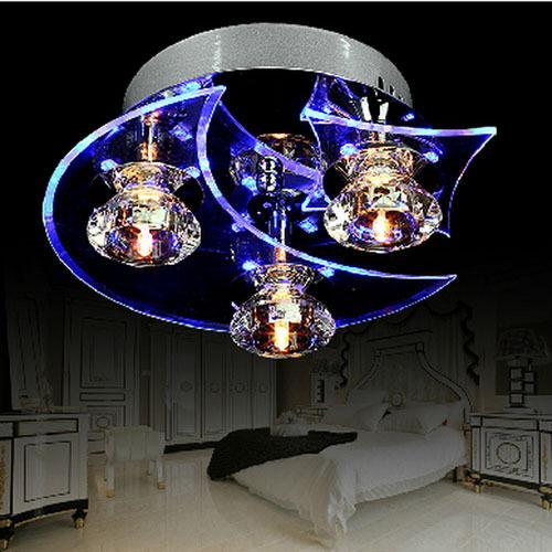 Ceiling Light Modern Crystal LED Chandelier Lamp Fixture Free Ship Big Sale