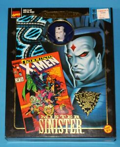 MARVEL-FAMOUS-COVERS-8-034-Mister-Mr-Sinister-X-MEN-Mego-Style-Action-Figure-MIB