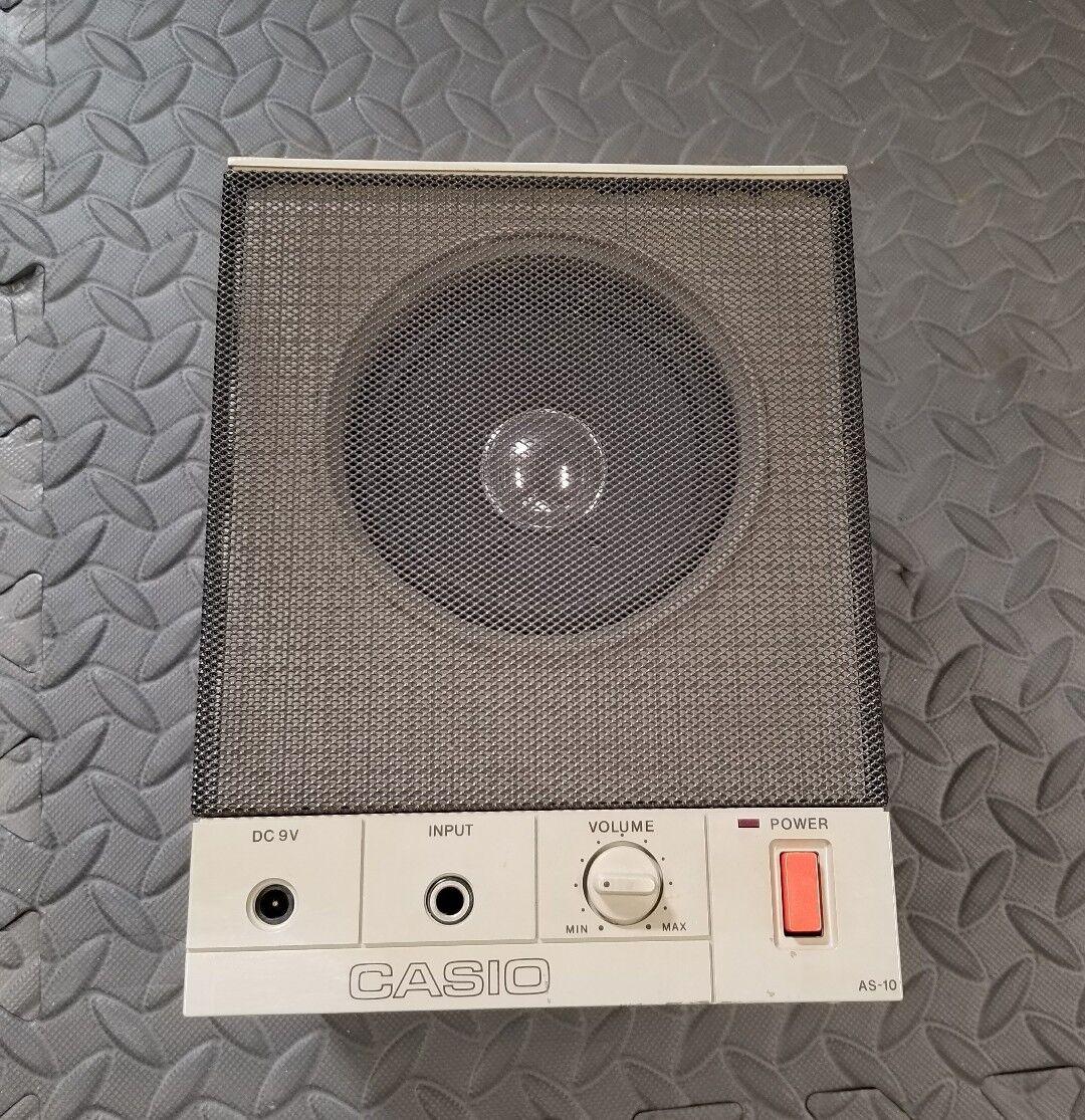 Casio AS-10 Tastatur Verstärker Vintage RARE