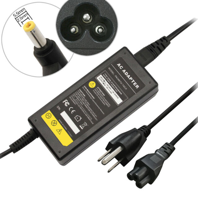Power Adapter Laptop Charger For Toshiba Satellite C55-B5300 C55-B5302 Notebook