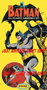 Aurora-transmisor-piloto-cartel-de-Batman-1964-ANUNCIO-FOLLETO-Sign-Fabuloso-reimpresion