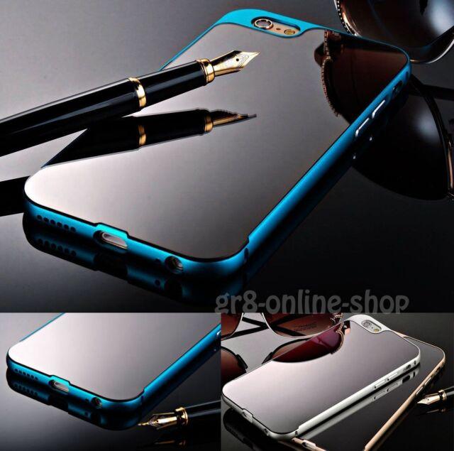 "Luxury Ultra-Thin Aluminum Mirror Back Case For Apple iPhone 6 4.7""/6 Plus 5.5''"