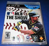 Mlb 13: The Show Sony Playstation 3 - Ps3 - Factory Sealed Free Shipping