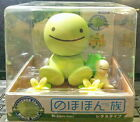 Japan TOMY Nohohon Zoku Solar Bobble Head Figure Sunshine Buddies Lettuce Type