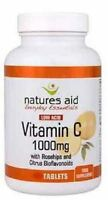 Natures Aid Vitamin C 1000mg Low Acid 240 Tabs (pack Of 6)