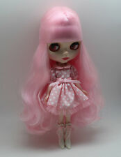 Blythe Nude Doll Miss Pink from factory w/stand
