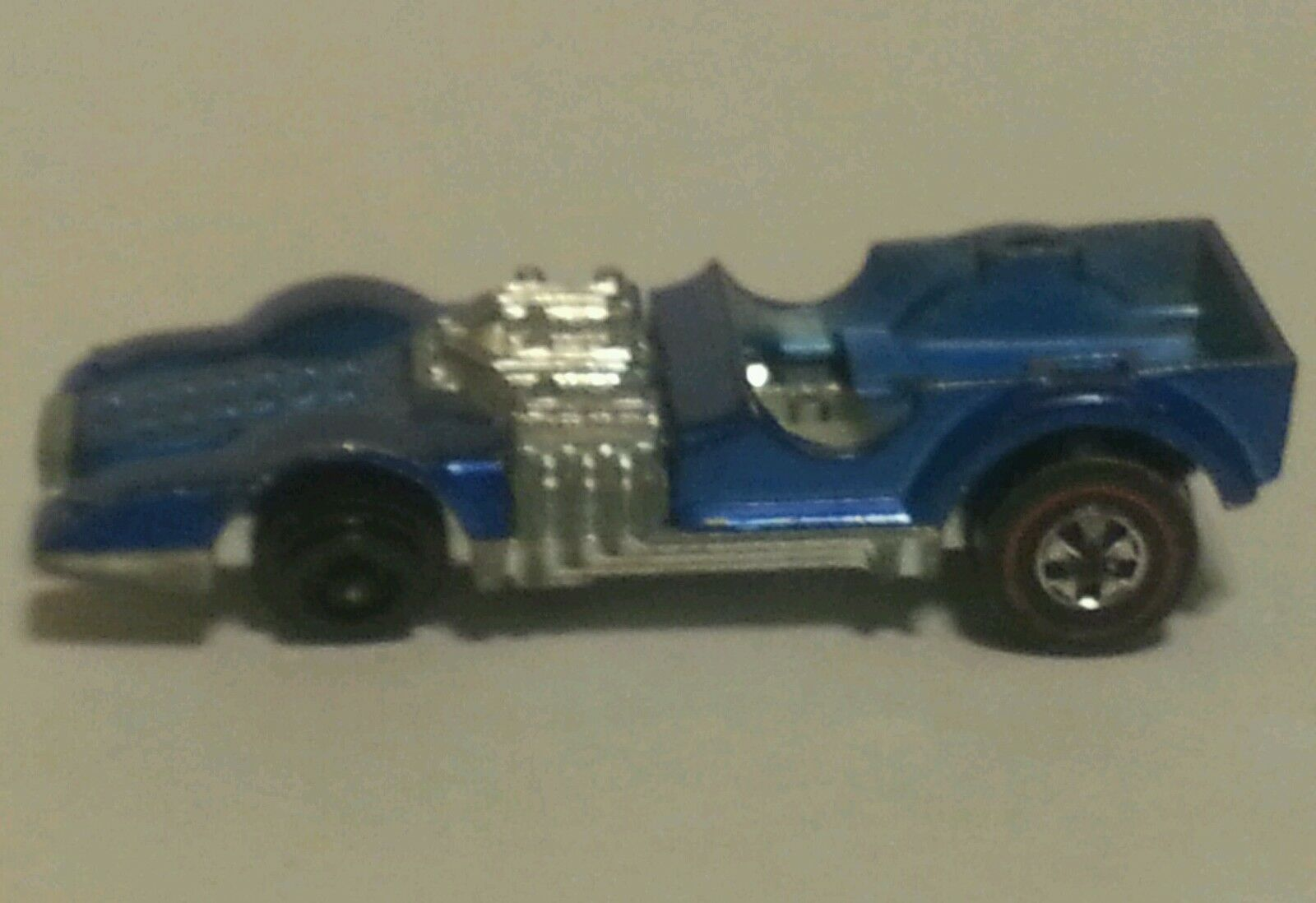 Hot Wheels Wheels Wheels Redline bluee Mutt Mobile - Rare  3bed05