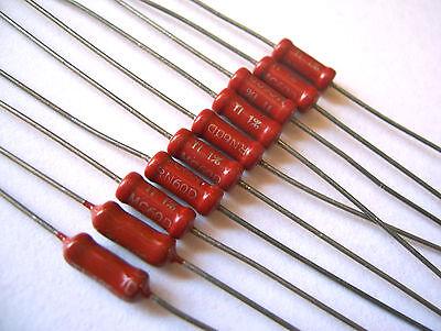 453 Ohm 1//2 Watt 1/% Metal Film Resistor Lot of 100 Pieces 273-453-RC