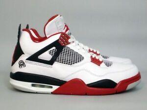 DEADSTOCK-2006-Air-Jordan-IV-4-Mars-Blackmon-White-Varsity-Red-Black-size-12