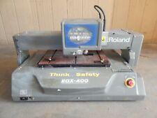 Roland Egx 400 Engraving Machine 3497