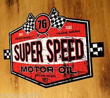 76 Speed Oldschool Sticker Aufkleber Tuning Youngtimer USA Cars V8 Oldtimer