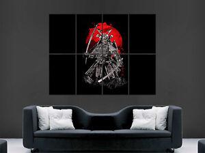 Image Is Loading JAPANESE SAMURAI SWORD WARRIOR POSTER GIANT WALL ART
