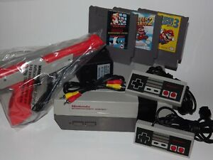 Nintendo NES System Console Choose Your Super Mario Game Bundle New 72 Pin