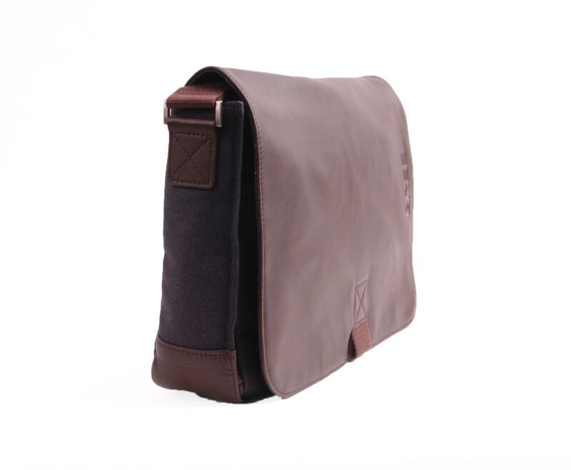 Bree Punch Casual 62 Messenger Bag In Anthra/dark Brown