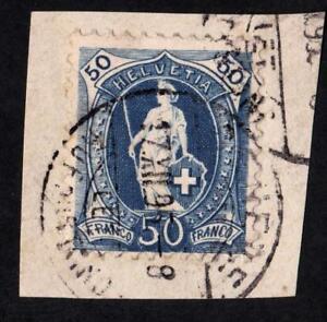 SUISSE-N-76-USED-YEAR-1887-CV-10