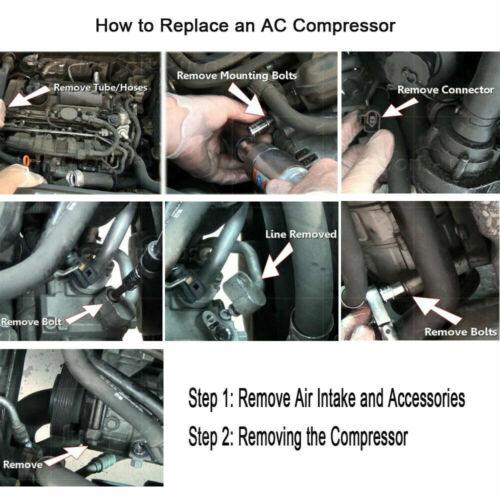 A//C Compressor For 2001-2007 Ford Escape 2001-2006 Mazda Tribute 3.0L CO 101640C