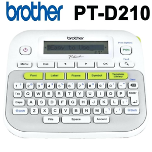 Image Is Loading New Brother P Touch Ptd210 Easy To Use