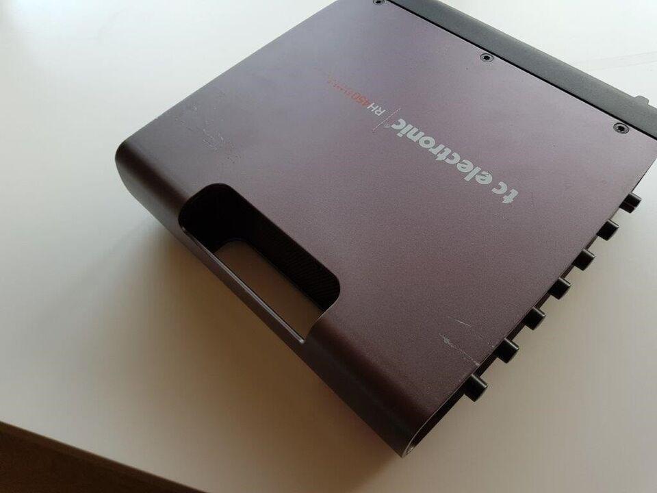 Basamplifier, TC Electronic RH 450, 450 W