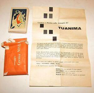 """Gioco, test psicologico """"TUA ANIMA""""  della Nivea anno 1958"""
