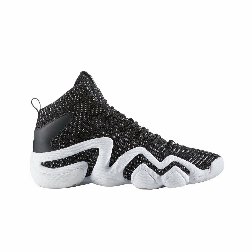 BY4423 Adidas Crazy 8 Adv PK Primeknit (Black/Met Silver) Men's Basketball Shoes