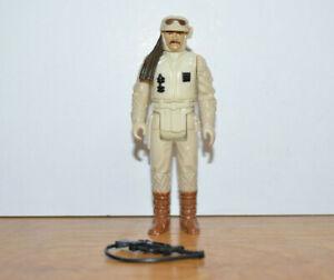 Vintage Star Wars HOTH REBEL COMMANDER Action Figure Kenner 1980 Complete 3.75