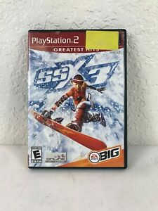 SSX-3-Sony-PlayStation-2-PS2-2003-COMPLETE-CIB-Tested