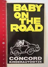 Aufkleber/Sticker: Concord Kinderautositze - Baby On The Road (26031628)