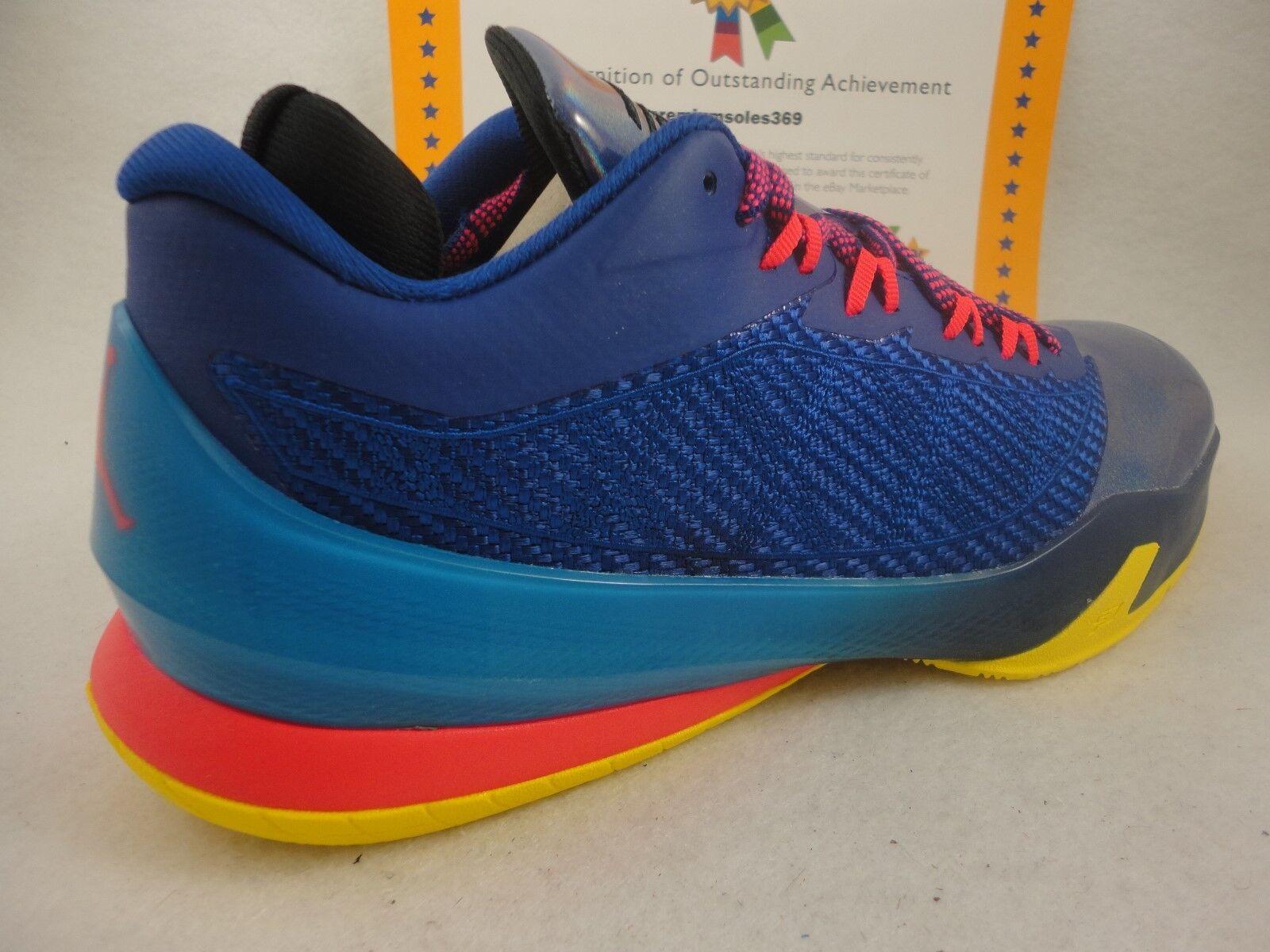 c3e1dd043d Nike Jordan CP3 VIII, Deep Royal / Infrared 23 / Tour Yellow, 684855 420