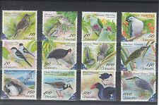 Vanuatu 2012 MNH Birds Definitives 12v Set Heron Dove Pigeon Swamphen Petrel