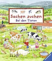Sachen suchen: Bei den Tieren von Susanne Gernhäuser (2014, Gebundene Ausgabe)
