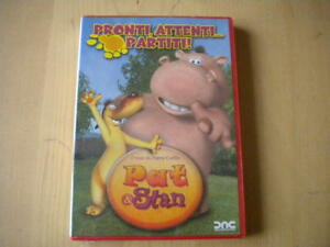 Pat-amp-Stan-Pronti-attenti-partiti-DVD-animazione-Lingua-italiano-francese